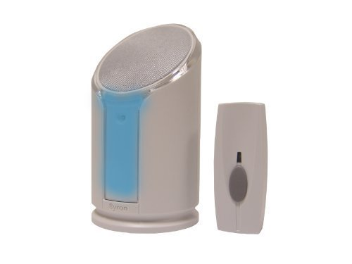 NRS Byron? Extra Loud Doorbell with Flashing Strobe Light by NRS