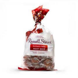 Russell Stover Sugar Free Root Beer Hard Candies, 12 oz. bag