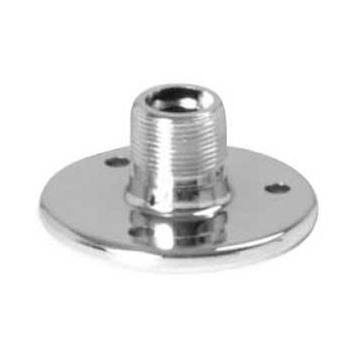 On-Stage TM02C Chrome Microphone Flange (Chrome Mic)
