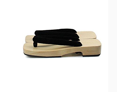 Scarpe Se Zoccoli Sandali Accessori Geta 0030 Tradizionale Giapponese bk Cosplay Nuoqi 8tE466