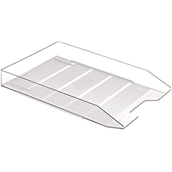 Acrimet Stackable Letter Tray, Crystal Color (1 Unit)