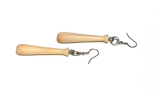 - Sports Ball Earrings (2 baseball bats)
