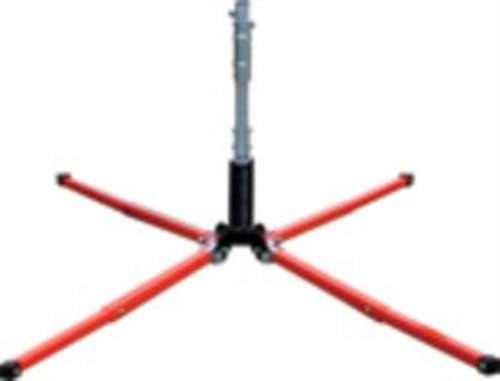 Dicke Safety Products SUF2000W Uniflex Sign Stands, 22'' Steel Legs with Screwlock by Dicke Safety Products