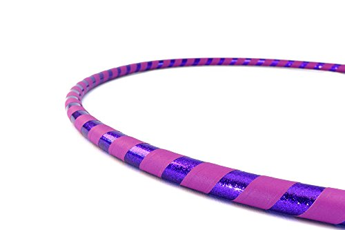Weighted Fitness Hula Hoop. Great for Exercise, Dancing, Staying in Shape and Having Fun! (Iris, Fitness Hoop L 40