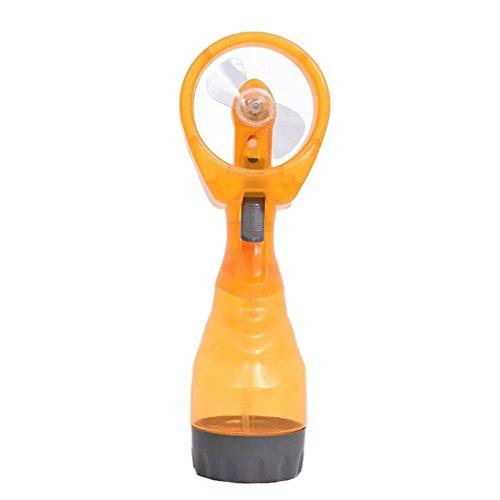 Bokze Handheld Mini Fan Summer Battery Operated Misting Desk Fan for Student Teacher by Bokze