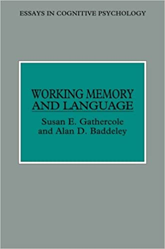 com working memory and language essays in cognitive  working memory and language essays in cognitive psychology 1st edition