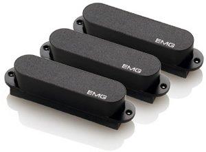 EMG EMG-S Set - Black Stratocaster Pickups