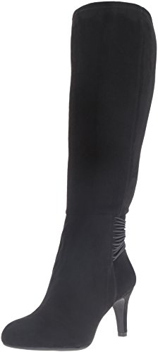 BCBGeneration Women's Bg-Rozz Slouch Boot, Black, 8.5 M (Black Women Stretch Boot)