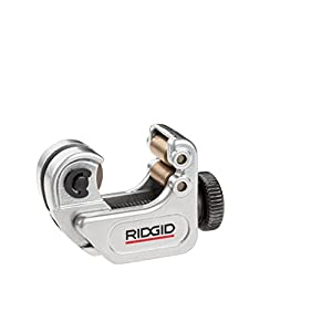 RIDGID 32975 Model 103 Close Quarters Tubing Cutter, 1/8-inch to 5/8-inch Tube Cutter