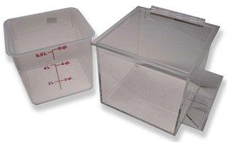 (Countertop Ice Bin for Iced Cofee)