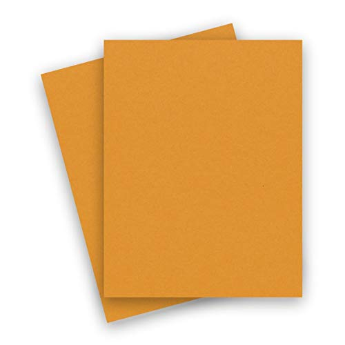 (Extract Mustard 8-1/2-x-11 Cardstock Paper 50-pk - PaperPapers 380 GSM (140lb Cover) Quality Card Stock Papers Sustainable and Earth-Friendly Paper - Great for Professional and DIY Crafting Projects)