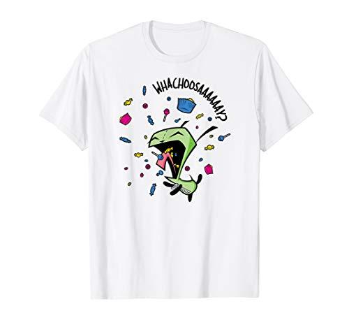 Invader Zim Gir Whachoosay - Tee Invader Zim Shirts