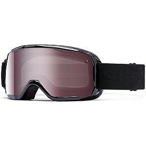 Smith Optics Showcase OTG Women's OTG Series Snow Snowmobile Goggles Eyewear - Black Lux / Ignitor Mirror / Small