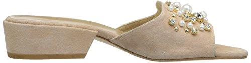 Stuart Weitzman Femmes Decorslide Diapositive Sandale Bisque