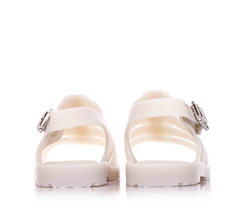 MINI MELISSA - Beige Schuhe aus MELFLEX Plastik, duftendes Gummi, Mädchen