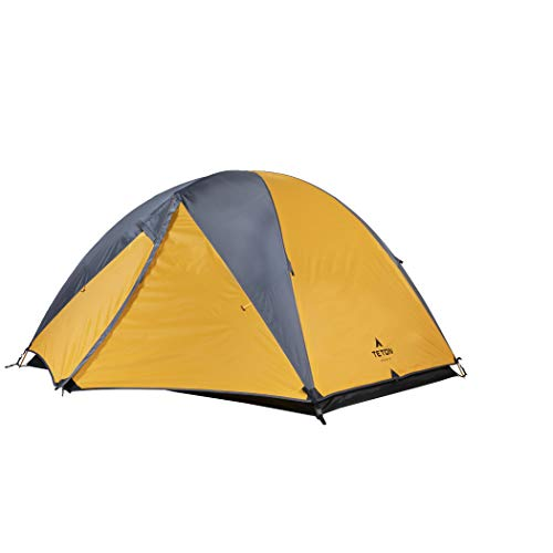 TETON Sports Mountain Ultra 2 Person Tent; Backpacking Dome Tent Includes Footprint and Rainfly; Quick and Easy Setup; Ready in an Instant When You Need to Get Outdoors; Clip-On Rainfly Included