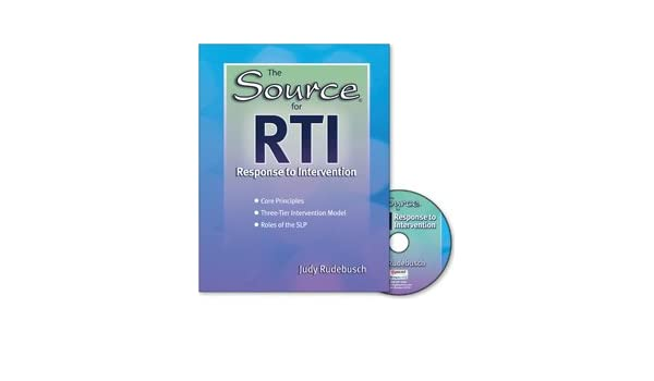 The Source for RTI: Response to Intervention: Judy Rudebusch ...