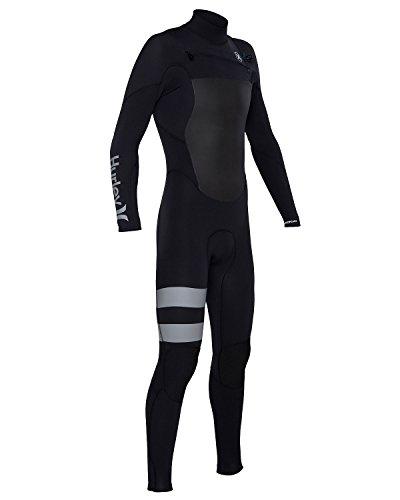 Hurley MFS0000140 Mens Fusion 302 Full Suits, Black, LT