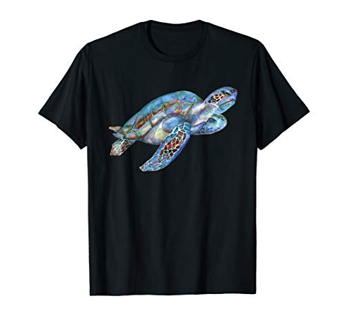 Yertle The Turtle Costumes Ideas - Colorful realistic ocean turtle, Watercolor turtle