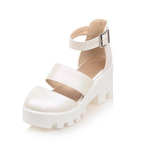EU Femme Blanc Blanc ASL05376 5 Plateforme BalaMasa 36 p8qTz7z