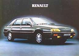 Renault 1991 RANGE FULL-LINE COLOR SALES BROCHURE (BRITISH): 5, 19