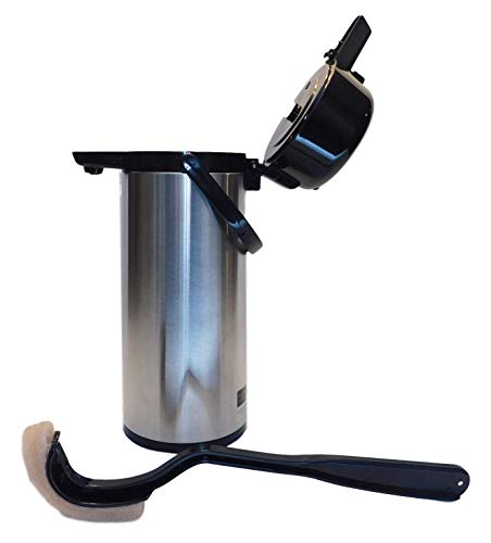 AIR POT CLEANER, AIRPOT BRUSH 16 INCH, 100% RECYCLED MADE IN USA by GK BRUSH US (Image #3)