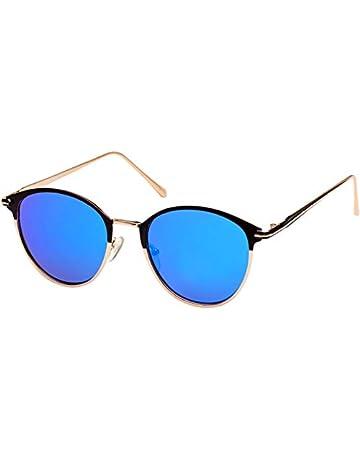 341874388cc Men Women Round Designer Sunglasses Two Tone Frame UV400 Protection
