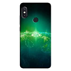 Cover It Up - Green Pattern Planet Redmi Note 5 Pro Hard Case