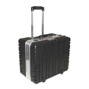 Price comparison product image Tec-Tuff Case,  Wheeled,  Sewn-in Pallets,  Black / Silver