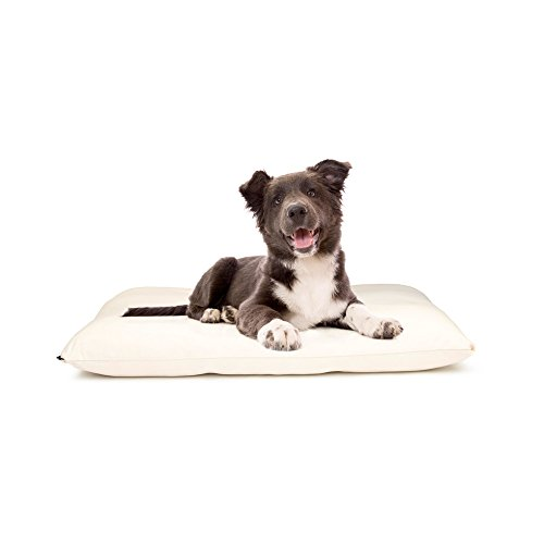 Organic Shredded Latex Pet Bed with Cover (24x36x5) – Medium by Naturepedic
