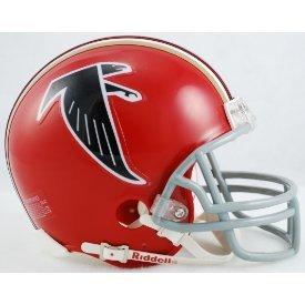 Atlanta Falcons 1966 to 1969 - NFL MINI Helmet by Gridiron Football Helmets