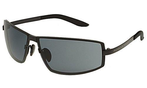 Porsche Design Gafas de sol P8417 - D: Negro mate: Amazon.es ...