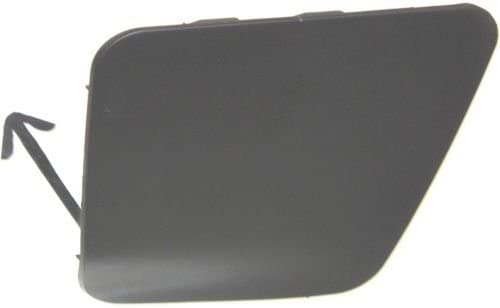 Primed Es350 Front Bumper Tow Hook Cover Perfect Fit Group REPL018402