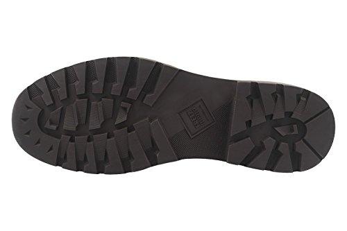 FRETZ men - Zapatos de cordones de Piel Lisa para hombre negro negro