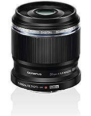 Olympus M. ZUIKO Digital ED 30mm F3.5 Macro Lens, Geschikt Voor Alle MFT-Camera'S (Olympus OM-D & Pen Modellen, Panasonic G-Serie), Zwart