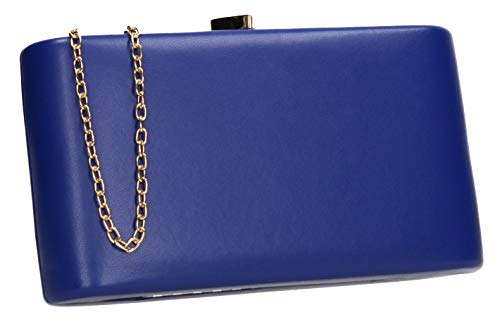 Bag Heart Ruth Box Blue Royal Party SWANKYSWANS Clutch Prom Love Womens qpxx8E