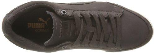 Puma Catskil Nb - Zapatos de Cordones de cuero hombre marrón - Marron (Black Coffee/Brown/White)