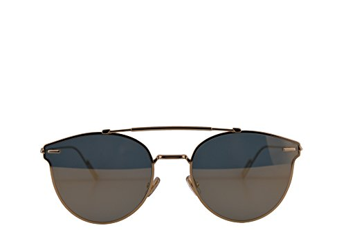 1f3a50bb675cf Christian Dior Homme DiorPressure Sunglasses Gold w Gold Mirror Lens 57mm  J5GWM