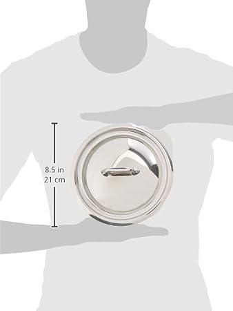 12 cm MCook 521812 Mauviel1830 Couvercle argent/é