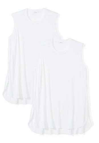 Daily Ritual Women's Plus Size Jersey Sleeveless Tunic