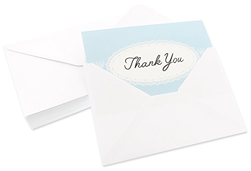 48 Pack Thank You Greeting Cards 6 Pastel Lace Greeting Cards Assortment Includes Corresponding Greeting Card Envelopes 4 x 6 inches Photo #2