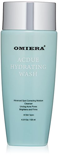 Omiera Acdue Acne Dark Spot Face Wash, Acne Pore Cleanser, Acne Scar Wash, Anti-Aging Face Wash, And Uneven Skin Tone Treatment, 4 Ounce