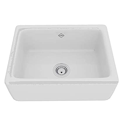 24 Inch Apron Sink.Rohl Rc2418wh Fireclay Kitchen Sinks 24 Inch By 18 Inch By 10 Inch