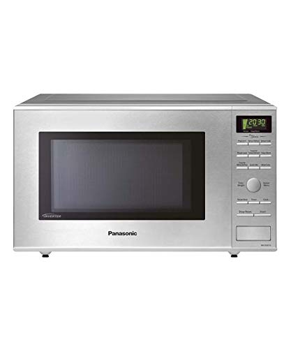 Panasonic NN-SD671S 1.2 Cu.ft Stainless Steel Countertop Mid-Size Microwave with Inverter Technology (Renewed)
