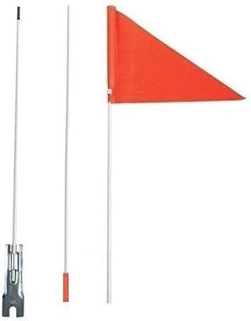 Positz High Visibility Safety Flag Orange 150cm 60in