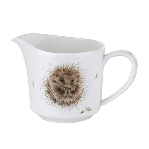 Royal Worcester Cream Jug - Awakening (Hedgehog)