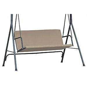 Ferocity Universal Cubiertas para los Asientos para balancín Funda de Asiento Soporte de Asiento tamaño 100 x 138 cm Beige [101]