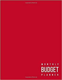 amazon monthly budget planner 12 month budget planner book