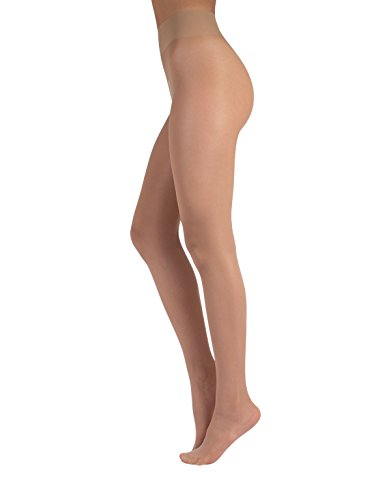 Bare Pantyhose - SHEER EVERY DAY TIGHTS | BARE TIGHTS | NUDE PANTYHOSE | 20 DEN | BLACK, SKIN | S, M, L, XL | ITALIAN HOSIERY | (M, Skin)