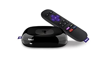 Roku -2710X-B Roku 1 Streaming Player (Black) (Certified Refurbished)